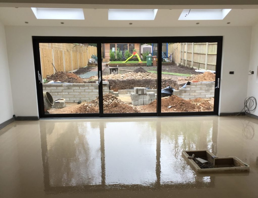 liquid floor screeding in surrey