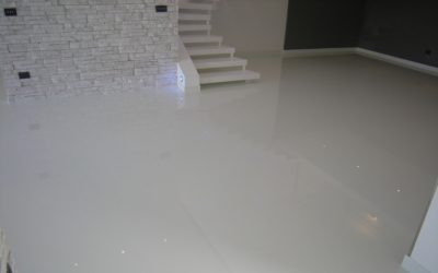 polished resin floor London
