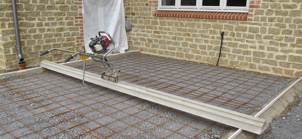 concrete floor base preperation